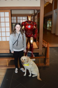 Me with Iron Man